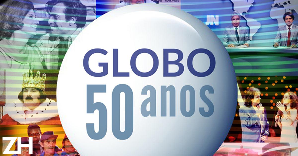 Globo 50 anos - Globos 50 anos ...